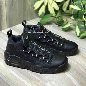 Nike Air Money GS Leather Black W AUTHENTIC